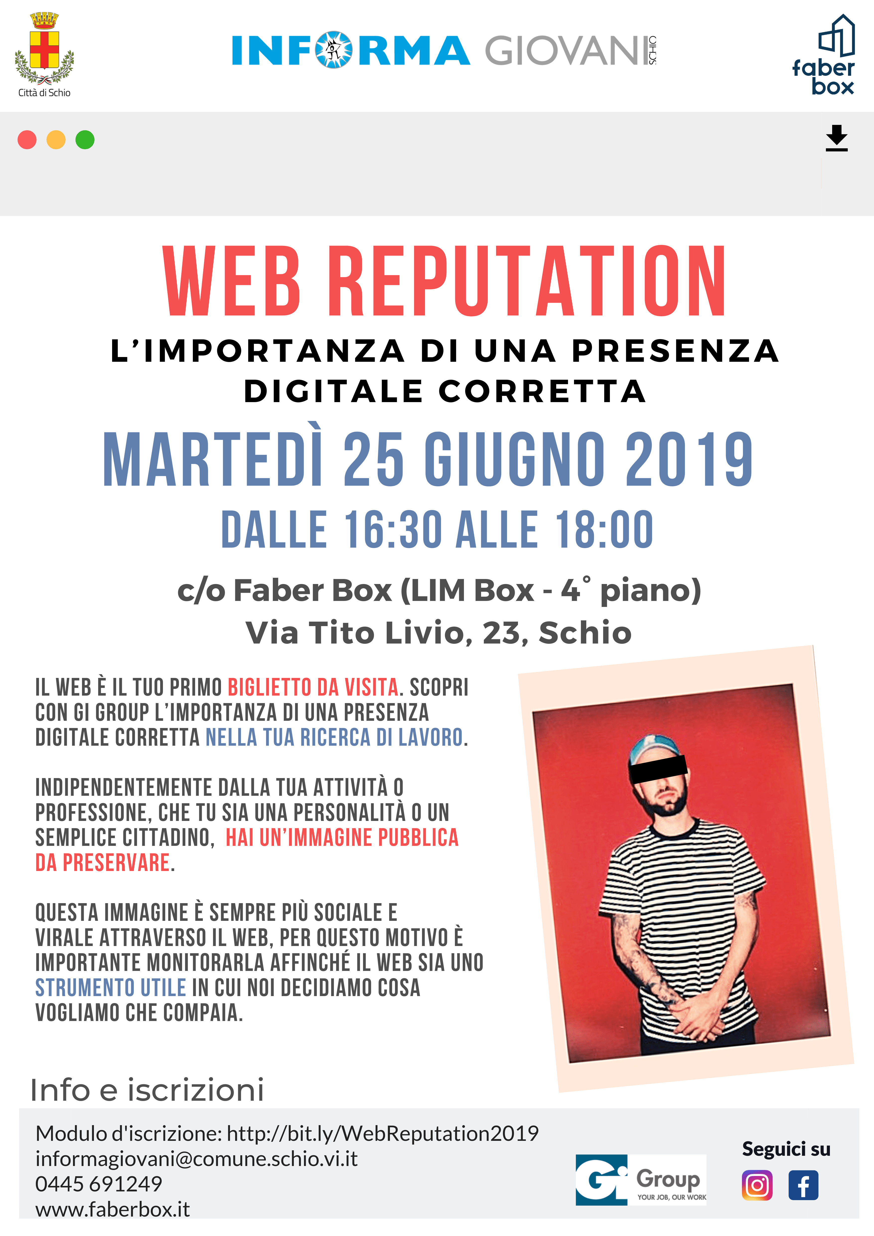 Web reputation - l'importanza di una presenza digitale corretta
